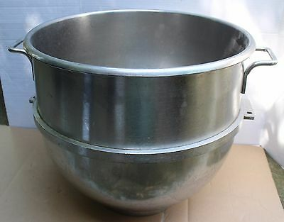 Stainless Steel 80-Quart Mixing Bowl for Hobart Mixer 80QT