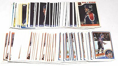 1984-1988 Topps Paul Coffey Lot Of 154 Cards 1985 1986 1987 Oilers Hky026