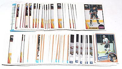 1984-1990 Topps Pat Lafontaine Lot 151 Cards 1985 1986 1987 1988 1989 Rc Hky045