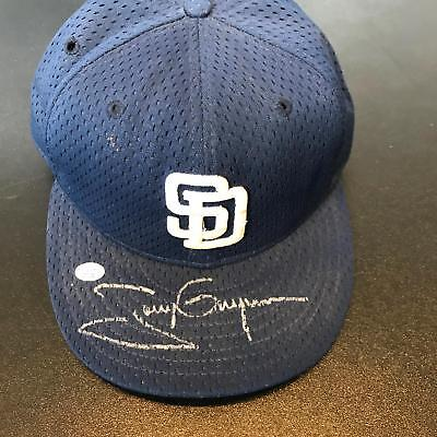 Tony Gwynn Signed Game Used San Diego Padres Hat Cap PSA DNA COA