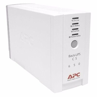 USV 650 VA APC Schneider Electric Back UPS BK650EI 4fach Interface USB 400W OVP