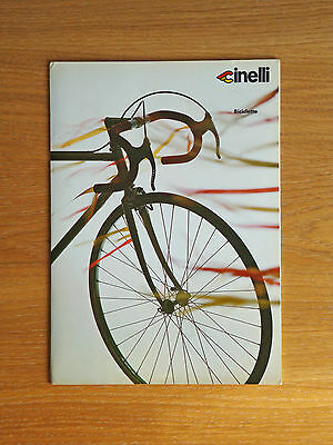 Vintage CINELLI Bicycles Catalog Catalogue Laser Supercorsa Pista