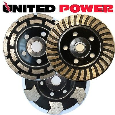 125mm DIAMOND GRINDING WHEEL * * * CHOOSE 2 WHEELS FROM PICTURE* * *