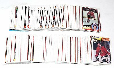 1983-1989 Topps Opc Steve Larmer Lot 232 Cards 1984 1985 1986 1987 1988 Rc Hk047