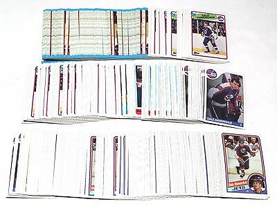 1984-1989 Topps Dale Hawerchuk Lot Of 390 Cards 1985 1986 1987 1988 Hky037