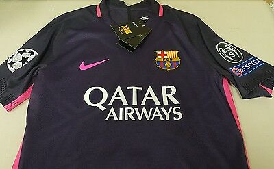 Barcelona Away 16/17 Andre Gomes Authentic Nike Jersey Large