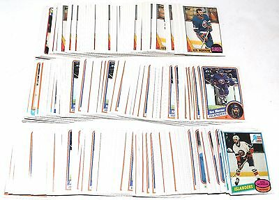 1980-1988 Topps Ken Morrow Lot Of 353 Cards 1981 1984 1985 1986 1987 Rc Hky051