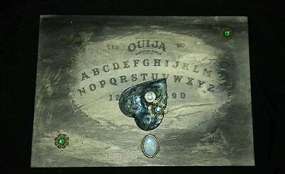 Retro Ouija Board For Spirit Communication-Witchboard With Planchette