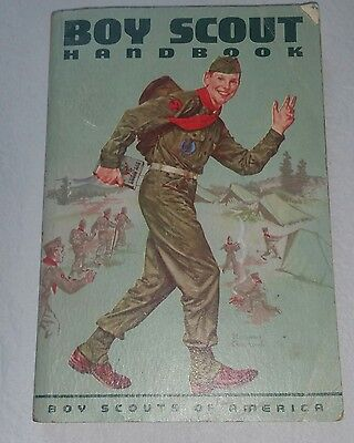 Boy Scout Handbook   1959 6th edition 1st printing