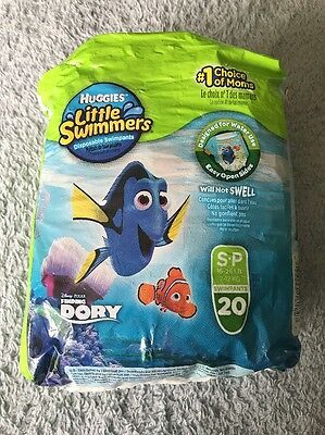Huggies Little Swimmers Size Small Swim Diapers 16-26 LB