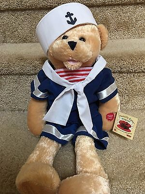 """Sailor Singing Bear from the Chantilly Lane Musical Collection, 22"""" Bobbie"""