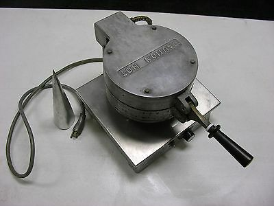 Gideco, Inc Commercial WAFFLE CONE MAKER BAKER Crepe Machine 120 V FREE SHIPPING