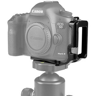 Kirk BL-5D3 L-Bracket for Canon 5D Mark III, 5DS, and 5DS R