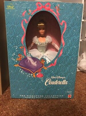 Brand New 1998 Walt Disney Cinderella Doll Mattel 19660 The Signature Collection