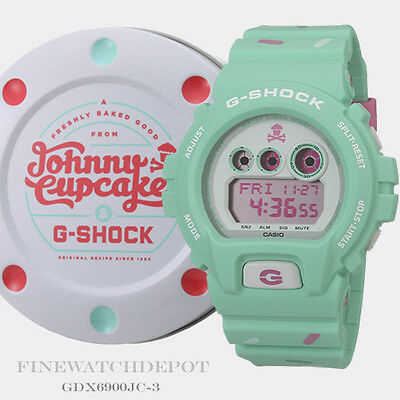 Authentic Casio G-Shock Johnny Cupcakes Series Watch GDX6900JC-3 Limited Edition