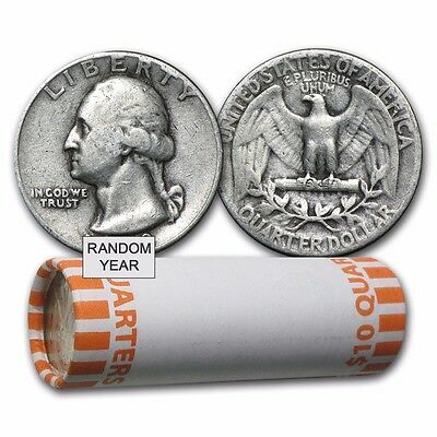 SPECIAL PRICE! 90% Silver Coins - $10 Face-Value Roll - SKU #103075
