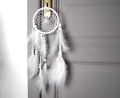Attrape Reves Dreamcatcher Blanc
