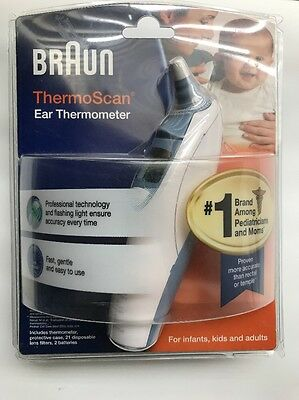 Braun® ThermoScan® Baby Adult Electronic Ear Body Temp Digital Thermometer New