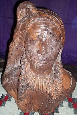 Native American Indian Bust