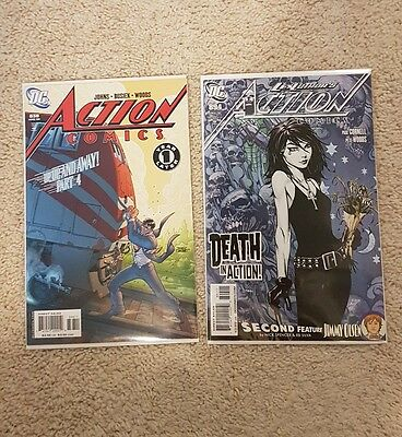 Action Comics #838 & 894 First Death in DCU