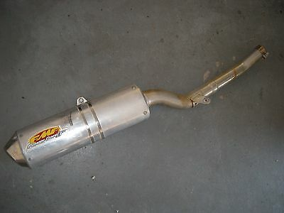 Suzuki DRZ400 COMPLETE FMF Slip on MUFFLER SILENCER power core system arrestor