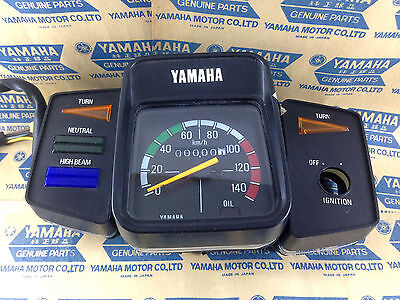 Genuine Yamaha YB100 Deluxe DT100 L2SN RX100 Speedometer Assy Indicator Panel