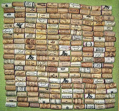 200 Natural Wine Corks, Used. Free Shipping. No Synthetic, No Champagne.