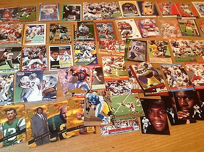 Job Lot 350 Plus Great NFL American Football TRADING CARDS