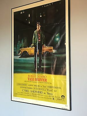 Taxi Driver Rare Original Movie Poster