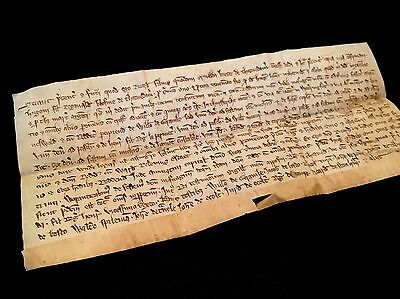 Medieval Document 1297