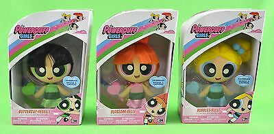 Powerpuff Girls Deluxe 3 Doll Set (Buttercup, Blossom, & Bubbles) New Ultra Hot!