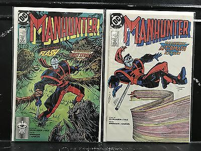 Lot of 2 Manhunter #8 9 (1988 DC) Combined Shipping Deal! • $1.49