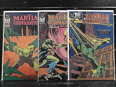 Lot of 3 Martian Manhunter #1 2 4 (1988 DC) Combined Shipping Deal! • $2.49
