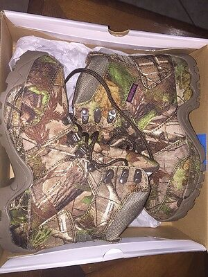 New Women's Game Winner REALTREE APG All Camo Hiker Hunting Boot 7.5