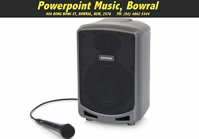 Samson XP360B Battery Powered Portable PA System w/Bluetooth + Mic RRP $419