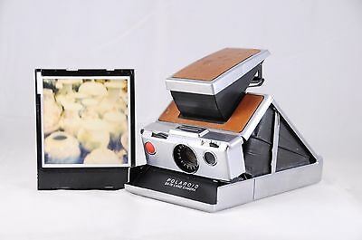 Great Polaroid SX-70 Land Camera - TESTED & WORKING