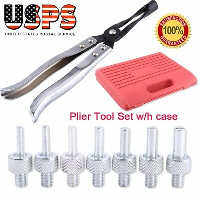 Valve Stem Seal Removal& Installer Kit Tool Remover Pliers & Seal Adapters 11PCS