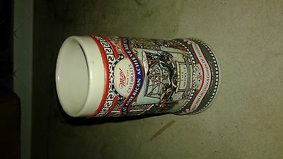 vintage miller stein, great american acheivements, celebration stein, model t,