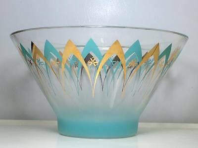 Vintage Mid century modern atomic happy hour chip bowl