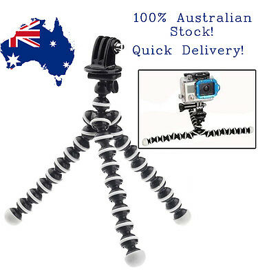 Flexible Mini Tripod Octopus Stand for GoPro and Digital Camera!