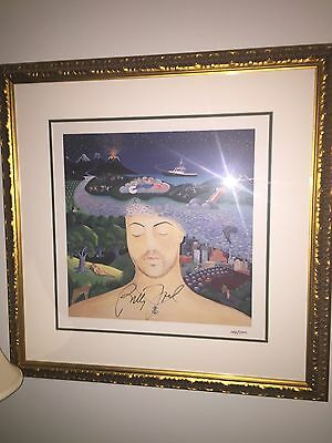 Billy Joel Original Lithograph Signed Autograph River Of Dreams