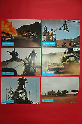 Mad Max Ii 1981 Road Warrior Mel Gibson  Rare  Exyu Lobby Cards Set