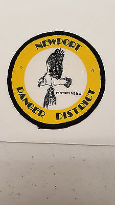 USDA USFS US Colville National Forest Service Newport Ranger District WA Patch