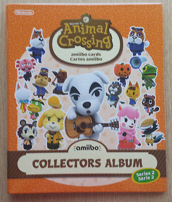 Animal Crossing New Leaf Welcome Amiibo Happy Home Designer Card Album Series 2