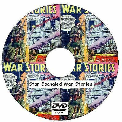 Star Spangled War Stories Comic Collection on DVD Golden Age Comics