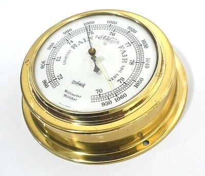 Stockburger precision stormy rain change fair very dry Barometer