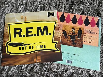 R.E.M. - Out Of Time - Sealed Vinyl LP Losing My Religion Shiny Happy People REM