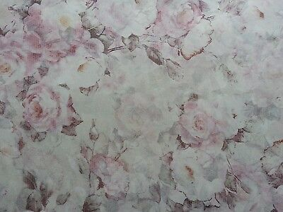 """6 sheets Decoupatch Floral Thin acid free Tissue Paper craft 20""""x30"""""""