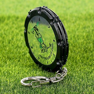 Plastic 18 Hole Golf Stroke Score Counter Recording with Keychain Scoring Keeper