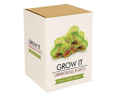 Gift Republic Grow It. Your Own Carnivorous Plants